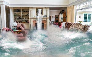 inundaciones en casa